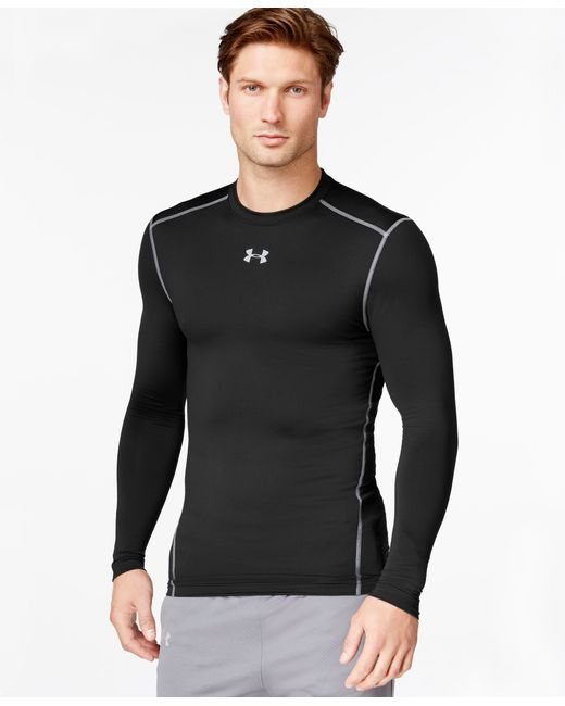 Under Armour | Black Men's Coldgear Compression Shirt for Men | Lyst