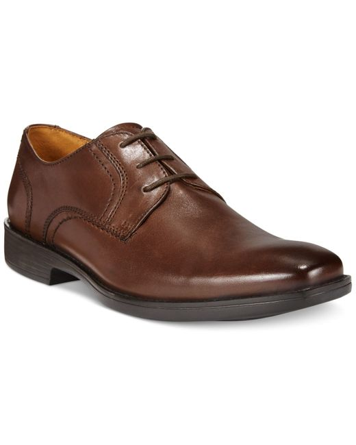 Bostonian | Brown Wurster Plain Toe Oxfords for Men | Lyst