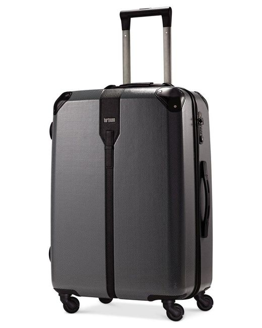 "Hartmann | Black Closeout! 60% Off Herringbone Luxe Hardside 26"" Medium Journey Spinner Suitcase | Lyst"