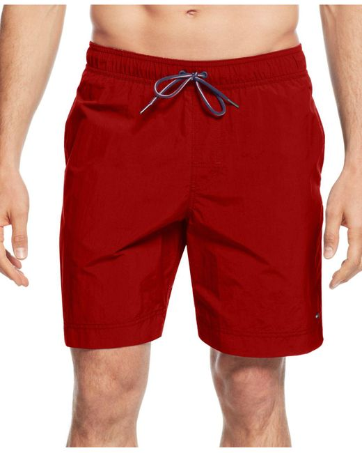 Tommy Hilfiger | Blue Core The Tommy Swim Trunks for Men | Lyst