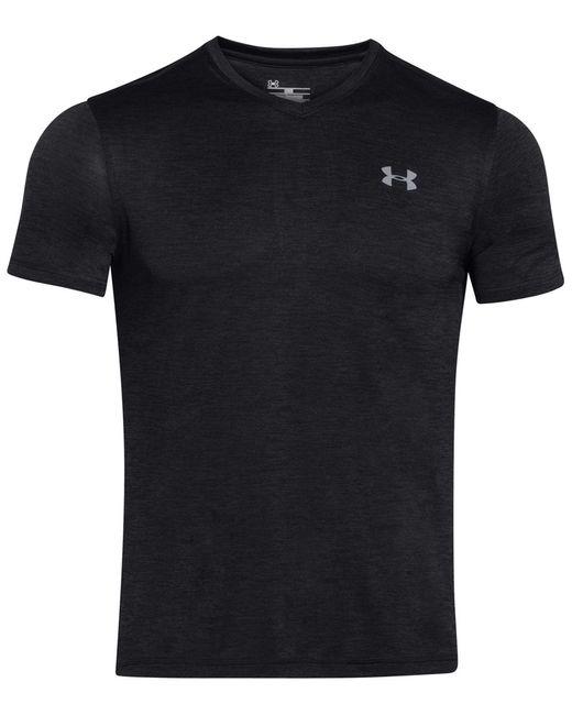 Under Armour | Black Men's V-neck Tech T-shirt for Men | Lyst