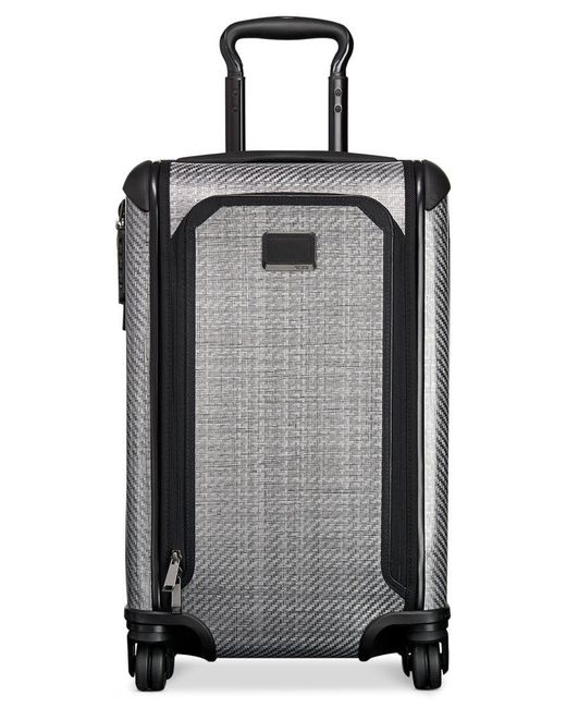 "Tumi | Gray Tegra-lite Max 22"" International Expandable Carry-on Hardside Spinner Suitcase for Men 