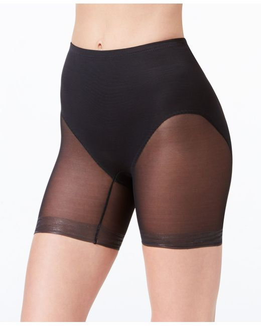 Miraclesuit | Black Shapewear Extra Firm Control Rear Lifting Boy Shorts 2776 | Lyst