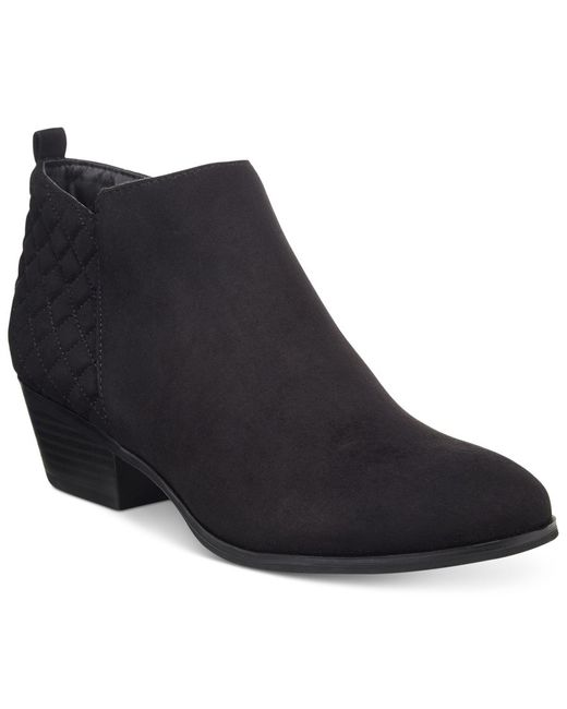 Style & Co. | Black Wessley Casual Booties, Only At Macy's | Lyst