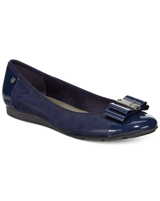 Anne Klein | Blue Sport Aricia Flats, Only At Macy's | Lyst