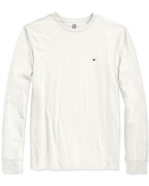 Tommy Hilfiger | White Eric Long-sleeve T-shirt for Men | Lyst