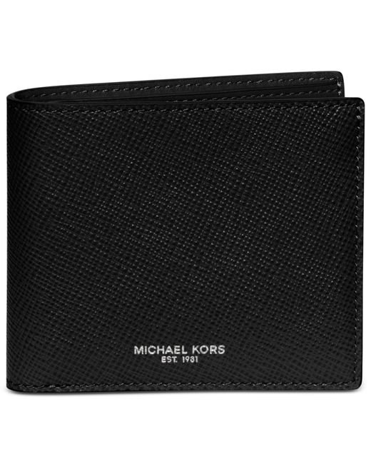 Michael Kors | Black Harrison Billfold for Men | Lyst