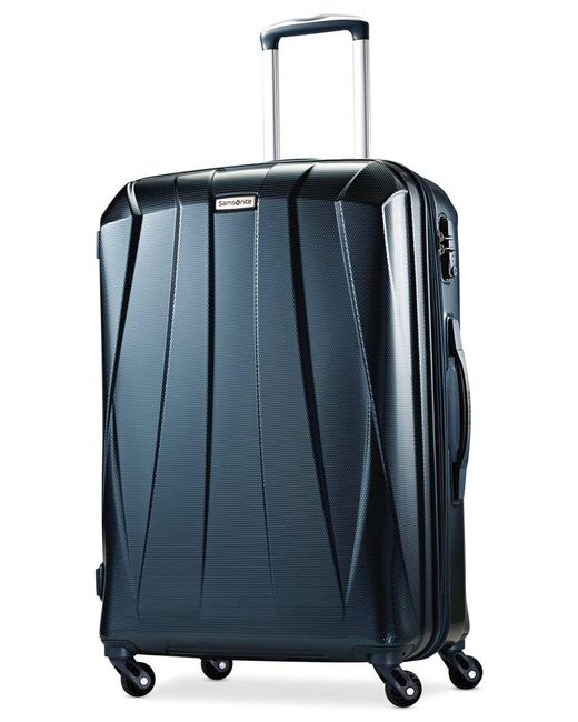"Samsonite | Blue Vibratta 25"" Hardside Spinner Suitcase, Only At Macy's 