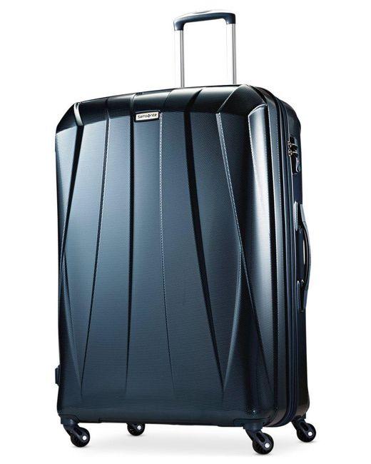 "Samsonite   Blue Vibratta 29"" Hardside Spinner Suitcase, Only At Macy's   Lyst"