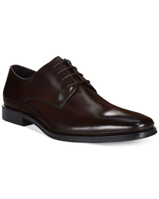Kenneth Cole | Brown Text Me Oxfords for Men | Lyst