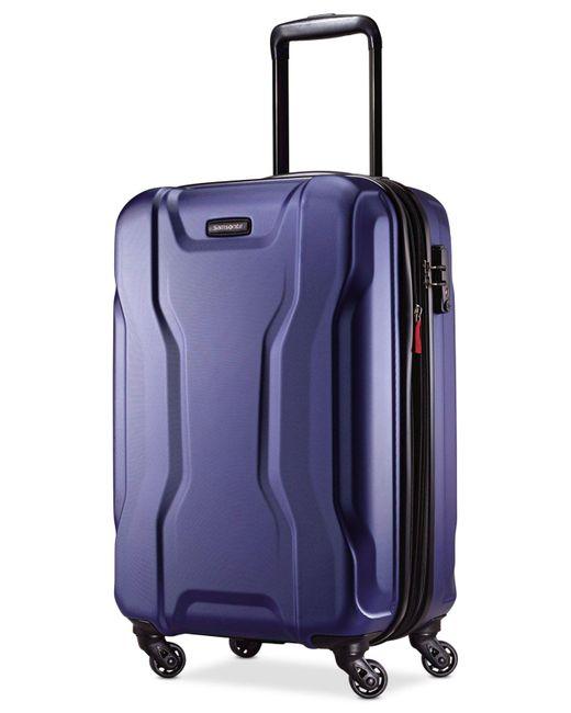 "Samsonite | Blue Spin Tech 2.0 21"" Carry-on Hardside Spinner Suitcase for Men | Lyst"