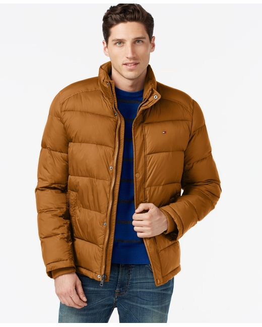 Tommy Hilfiger | Metallic Classic Puffer Jacket for Men | Lyst