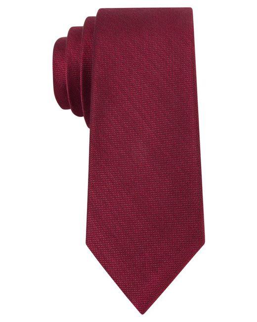 Michael Kors | Red Michael Luxe Variation Solid Slim Tie for Men | Lyst