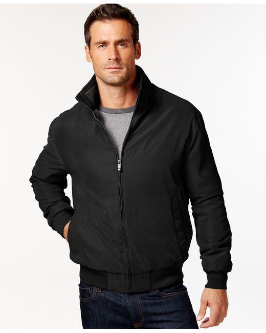 Weatherproof | Black Bomber Jacket for Men | Lyst