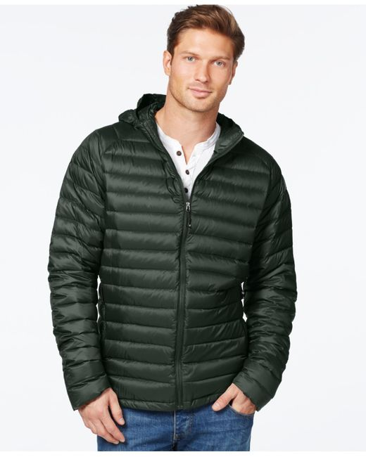 32 Degrees | Green Packable Down Jacket for Men | Lyst