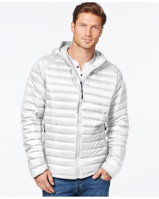 32 Degrees | White Packable Down Jacket for Men | Lyst