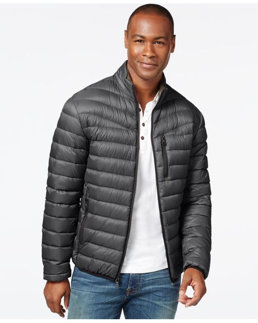 INC International Concepts | Gray Solid Down Packable Jacket, Only At Macy's for Men | Lyst