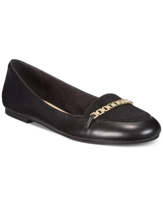 Bella Vita | Black Thora Flats | Lyst