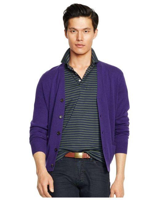 Polo Ralph Lauren   Green Striped Pima Soft-touch Shirt for Men   Lyst
