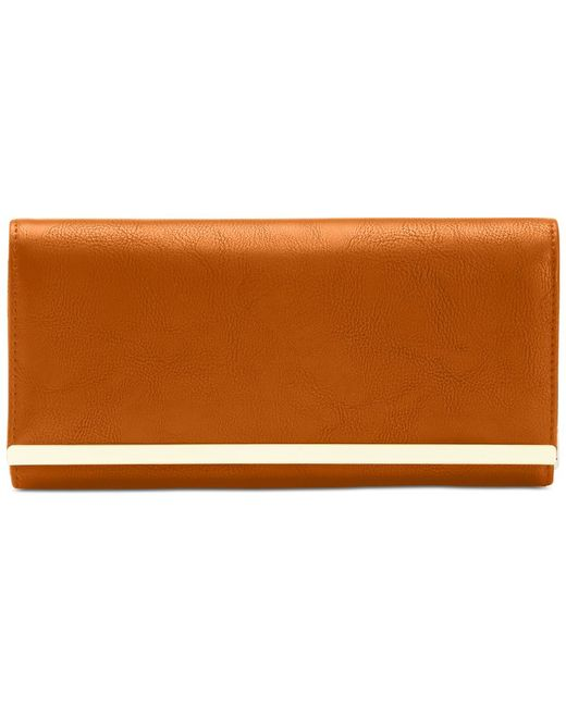 Style & Co. | Brown Style&Co. Clutch Wallet | Lyst