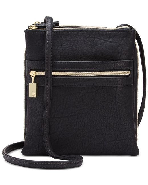 Style & Co. | Black Organizer Crossbody, Only At Macy's | Lyst