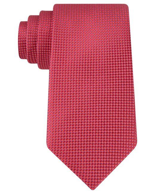 Michael Kors   Red Michael Rene Semi Solid Tie for Men   Lyst