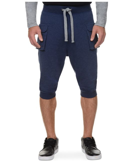2xist | Blue 2(x)ist Athleisure Men's Cropped Cargo Pants for Men | Lyst