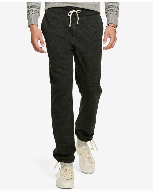 Polo Ralph Lauren   Black Classic Fleece Drawstring Pants for Men   Lyst