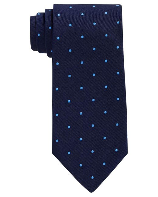 Brooks Brothers   Blue Dot Tie for Men   Lyst