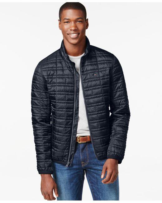 Tommy Hilfiger   Orange Platinum Insulator Quilted Jacket for Men   Lyst