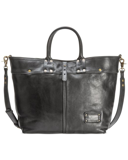 Patricia Nash | Black Nash Men's Milano Leather Tote | Lyst