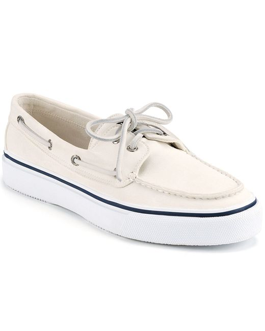 Sperry Top-Sider | White Bahama Boat Shoe for Men | Lyst