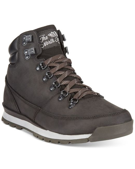 The North Face | Black Back-to-berkeley Redux Leather Boots for Men | Lyst