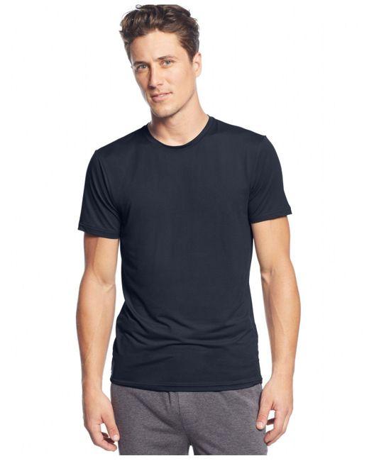 32 Degrees Blue Crew-neck T-shirt for men