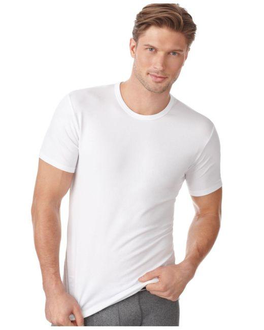 CALVIN KLEIN 205W39NYC - White Men's Cotton Stretch Crew-neck T-shirt 2-pack for Men - Lyst