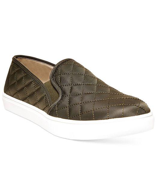 Olive Green Flats Shoes