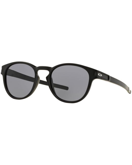 Oakley | Black Oo9265 Latch Round Sunglasses for Men | Lyst