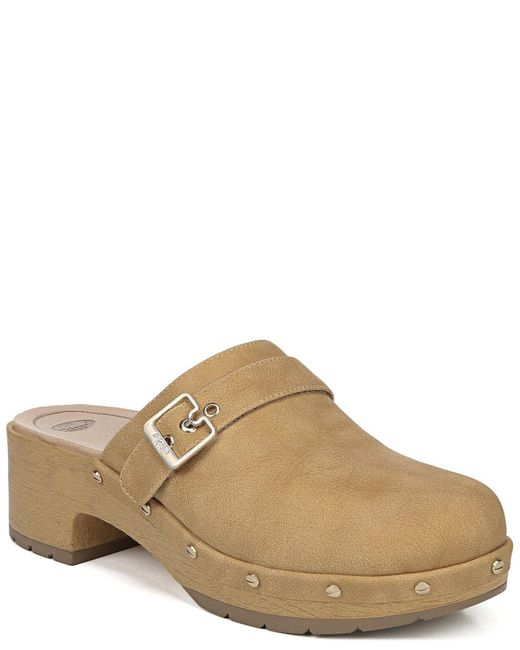 Dr. Scholls Natural Throwback Platform Clogs