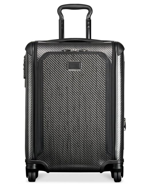 """Tumi - Black Tegra-lite Max 22"""" Continental Carry On Expandable Spinner Suitcase for Men - Lyst"""