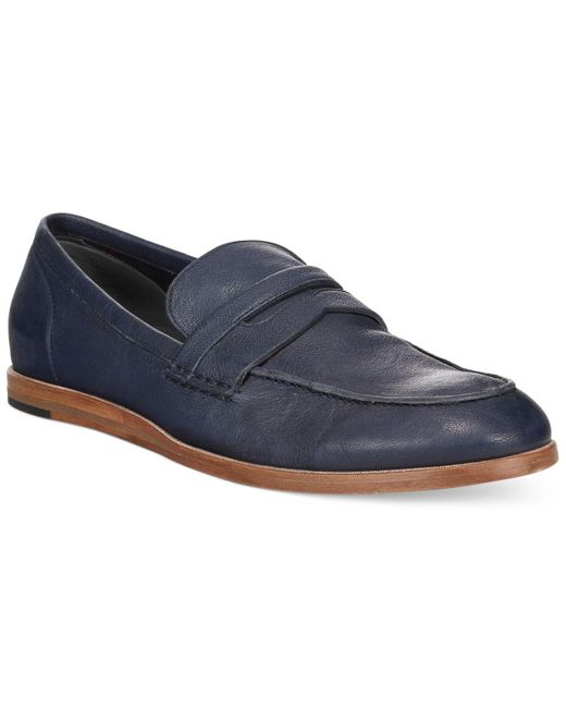 Cole Haan | Blue Bedford Penny Driver for Men | Lyst