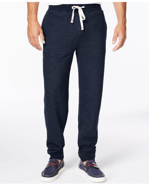 Tommy Hilfiger | Blue Big And Tall Men's Hancock Drawstring Sweatpants for Men | Lyst