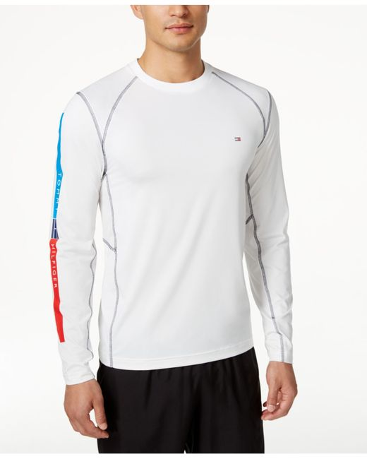 Tommy Hilfiger Men 39 S Chester Long Sleeve Active T Shirt In
