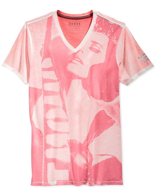 Guess | Pink Men's You'll Be Amazed T-shirt for Men | Lyst