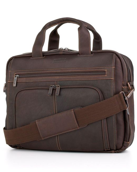 Kenneth cole reaction Columbian Leather Expandable Double ...