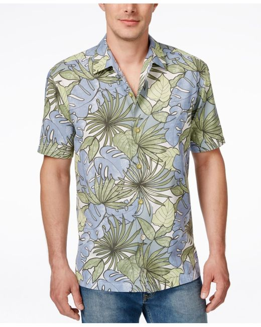 Tommy Bahama Men 39 S Remy Retro Floral Print Short Sleeve