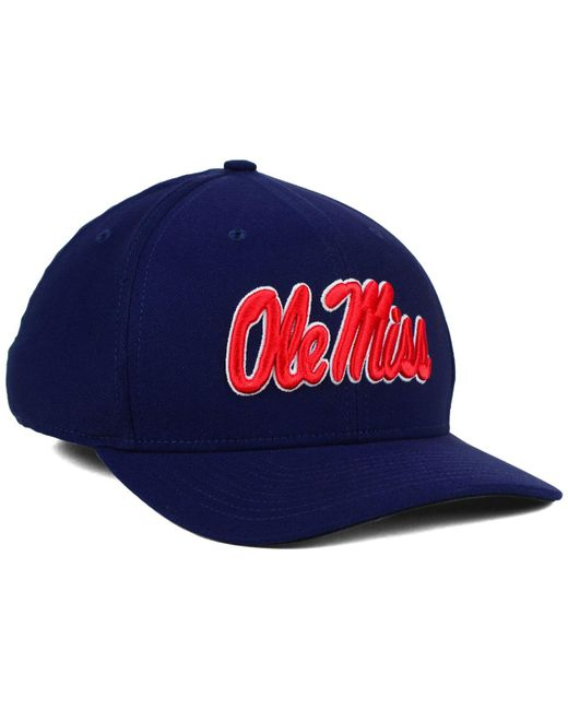 reputable site ebee7 974b3 ... Nike - Blue Mississippi Rebels Classic Swoosh Cap for Men - Lyst ...