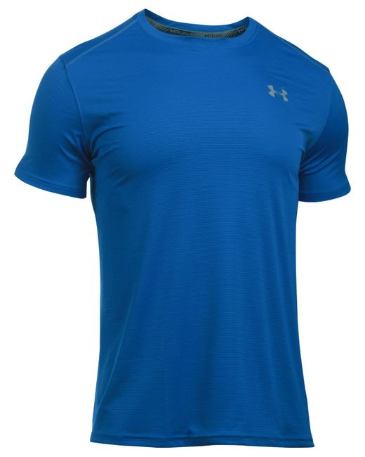 Under Armour | Blue Men's Coolswitch Running Shirt for Men | Lyst