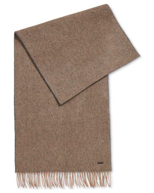 BOSS - Multicolor Men's Virgin Wool Scarf for Men - Lyst