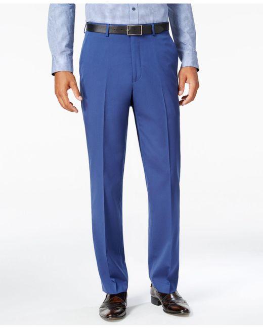 Sean John | Men's Classic-fit New Blue Suit Pants for Men | Lyst