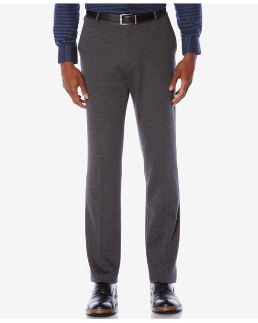 Perry Ellis | Gray Men's Knit Slim-fit Dress Pants for Men | Lyst